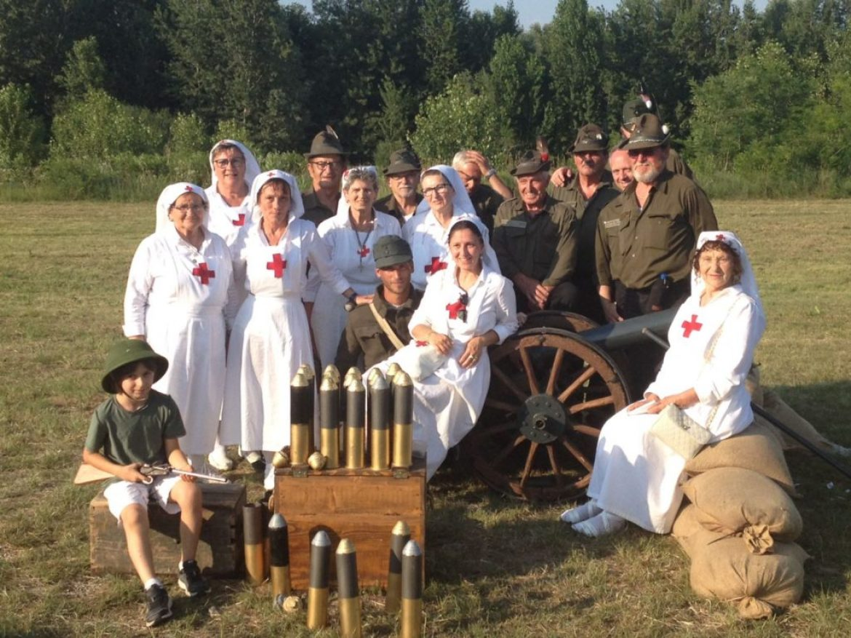 Croce Rossa Nervesa nel Centenario della Grande Guerra
