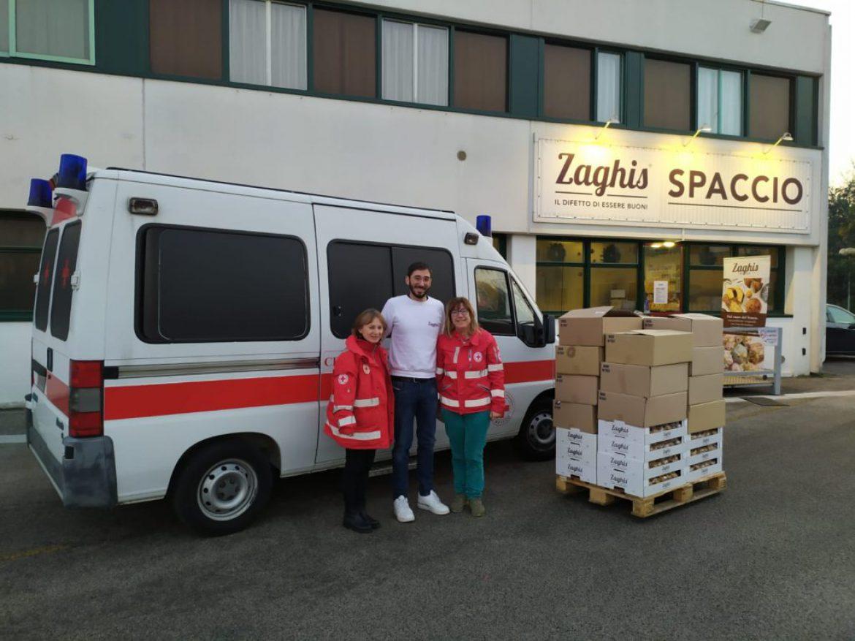 """Donazione a Croce Rossa Italiana – Comitato di Treviso da parte di """"Zaghis"""""""