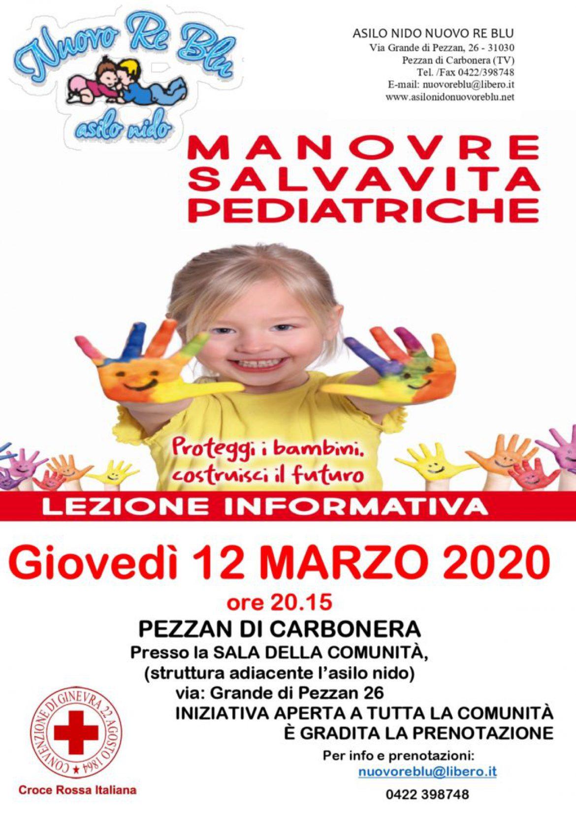 Lezione informativa Manovre Disostruzione Pediatrica e Sonno Sicuro