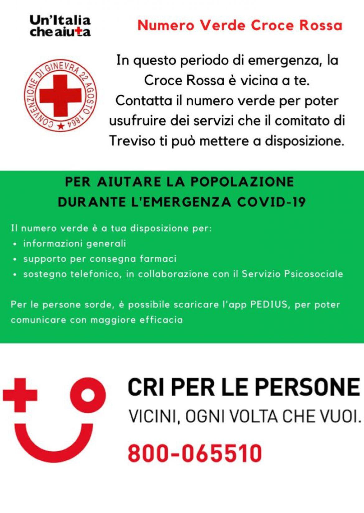 Numero Verde – CRI Treviso